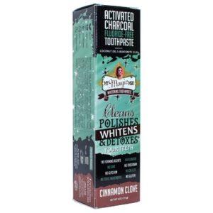 My Magic Mud Charcoal Toothpaste   Cinnamon Clove