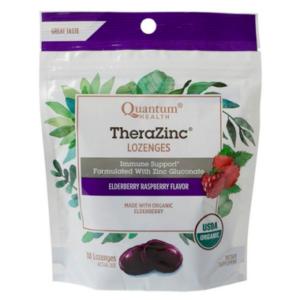 Quantum Organic Therazinc Lozenges | Elderberry