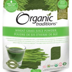 Organic Traditions | Wheat Grass Juice Powder