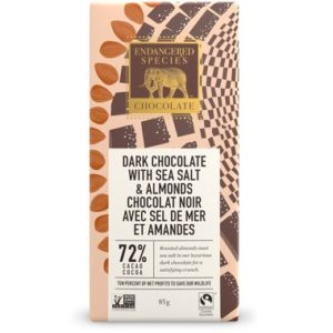 Endangered Species Chocolate | Dark with Sea Salt & Almonds
