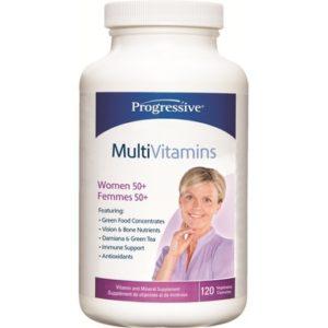 Progressive |  Women's MultiVitamin 50+ (120 Caps)