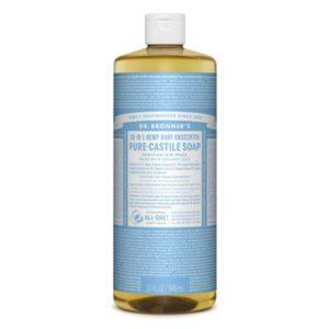Dr. Bronner's Organic Baby Mild Pure Castille Liquid Soap