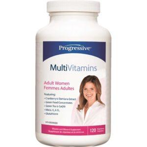 Progressive |  Women's MultiVitamin (120 Caps)