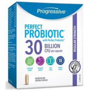 Progressive |  Perfect Probiotic 30 Billion (60 Caps)