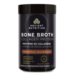 Ancient Nutrition | Bone Broth Collagen Protein (Chocolate)