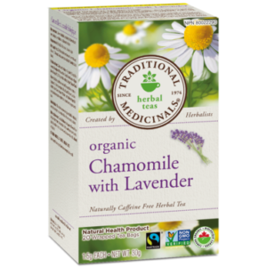 Traditional Medicinals   Organic Chamomile with Lavender