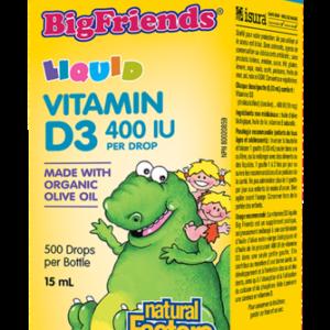 Natural Factors   Kids Vitamin D3 Drops