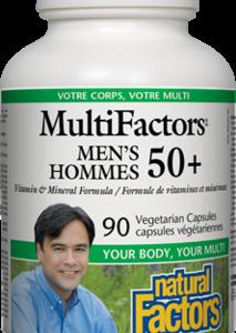 Natural Factors | Men's Multifactors 50+