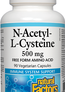 Natural Factors | N-Acetyl-L-Cysteine