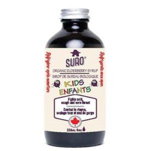 SURO Organic Elderberry Syrup | Kids
