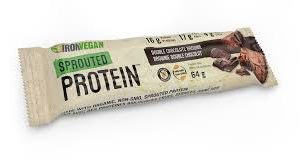 Iron Vegan | Sprouted Protein Bar Double Chocolate (Bar)
