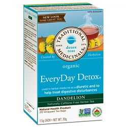 Traditional Medicinals | Everyday Detox Tea, Dandelion