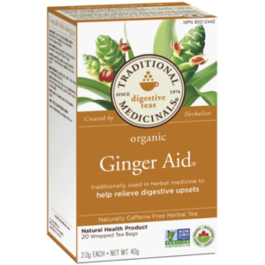 Traditional Medicinals | Organic Ginger Aid Tea
