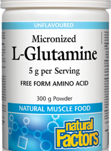 Natural Factors | Micronized L-Glutamine
