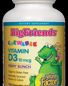 Natural Factors | Kids Chewable Vitamin D3