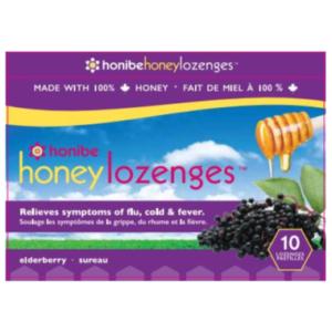 Honibe Honey Lozenge with Elderberry